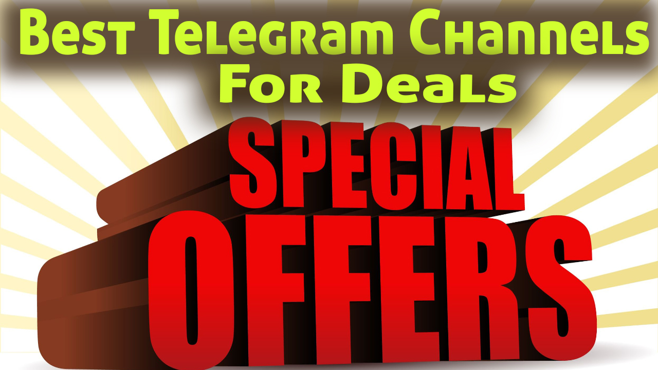 Best Telegram Channels for Deals