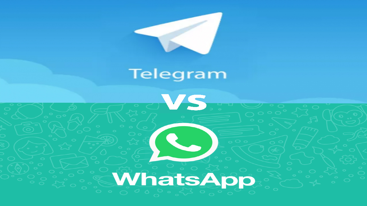 Telegram V/S Whatsapp