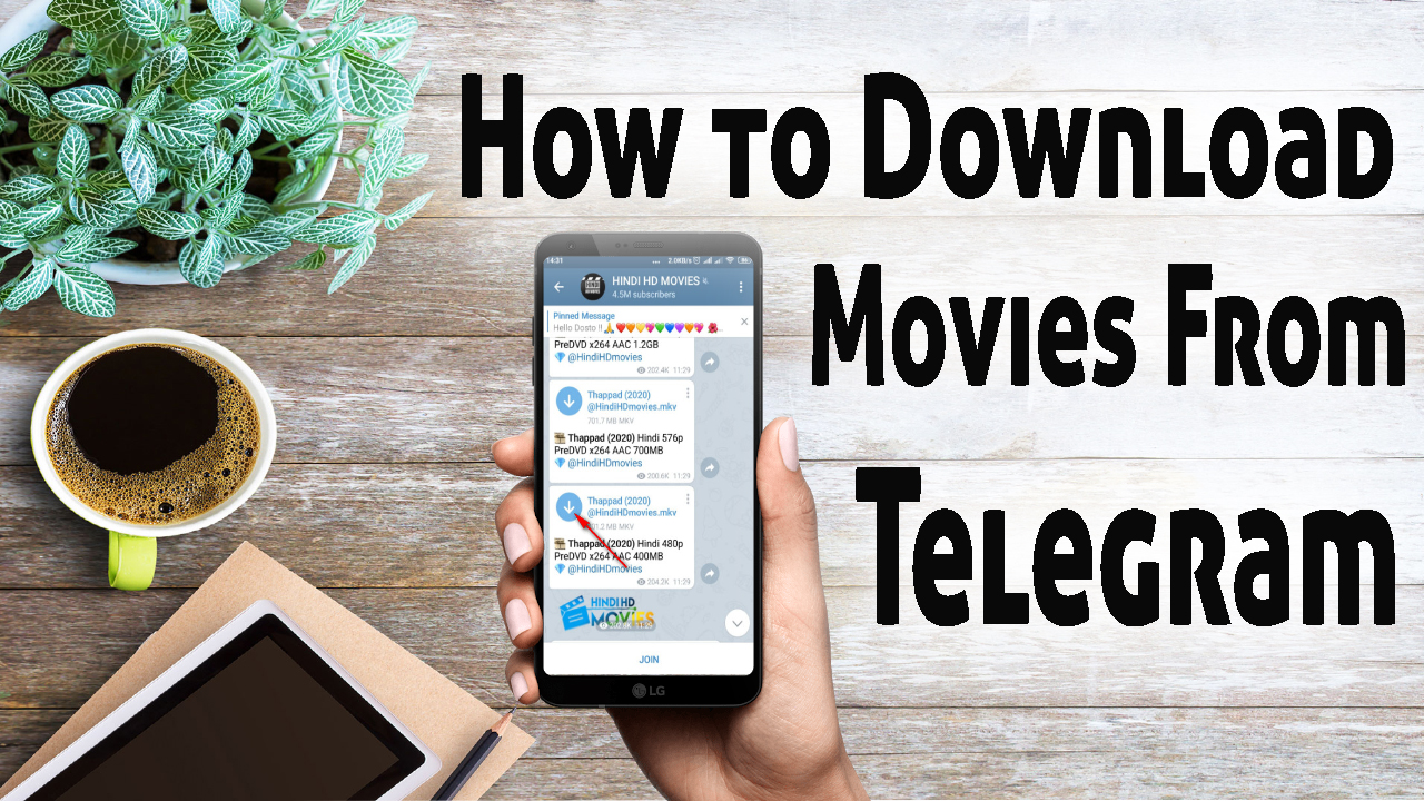 How to Download Movies from Telegram Telegram Channels & Groups