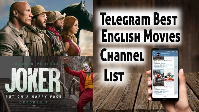 Best english Movies channels on Telegram