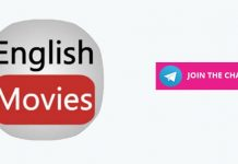English Cinemas Telegram Channel